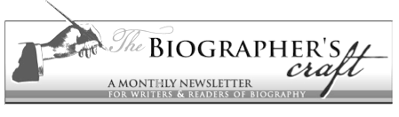Biographer's Craft Newsletter